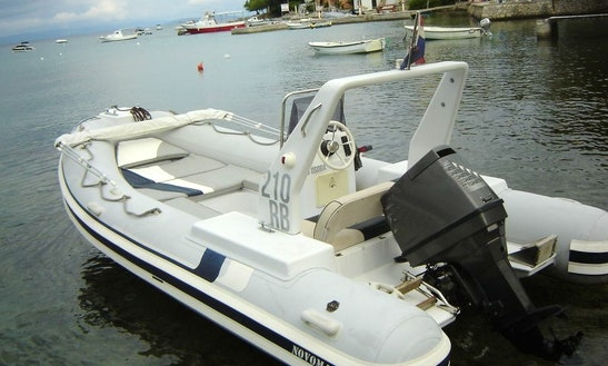 Rent 20' Novomar Rigid Inflatable Boat In Omiš, Croatia