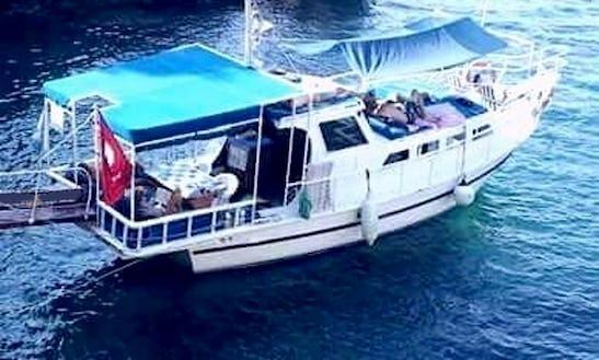 Charter A Motor Yacht In Kalkan, Antalya
