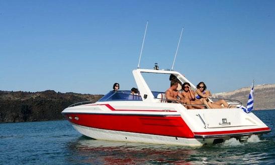 Sunseeker 37 Motor Yacht Trips In Santorini, Greece