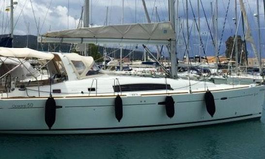 Charter 51' Beneteau Oceanis Family 50 Cruiser Cruising Monohull In Lefkada, Greece