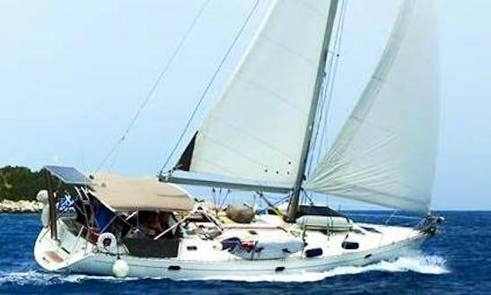 Charter 45' Jeanneau Sun Odyssey 45.2 Cruiser Cruising Monohull In Lefkada, Greece