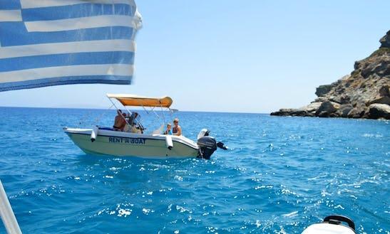 Power Boat Hire In Agia Pelagia, Greece