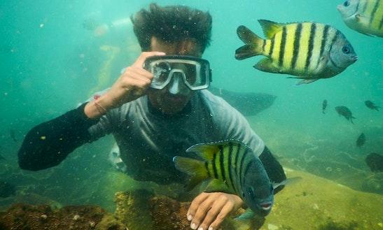 Enjoy Snorkelling In Malvan, Maharashtra