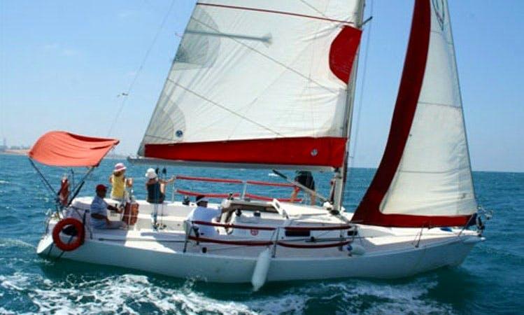 Beneteau Cyclades 43 Charter in Herzliyya Marina, Israel