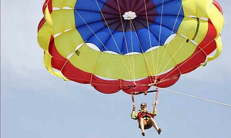 Enjoy Single Parasail Ride in Pile, Larnaka