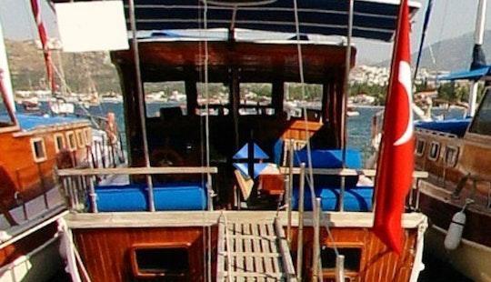 Charter 49' Ali Captain Ii Gulet In Bitez, Muğla