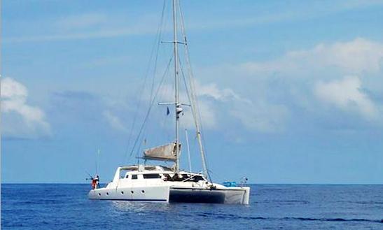 Charter 50' Walkabout Cruising Catamaran In Paje, Tanzania