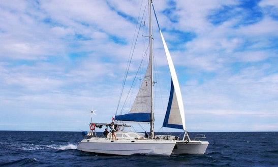 Charter 44' Mojo Cruising Catamaran In Paje, Tanzania