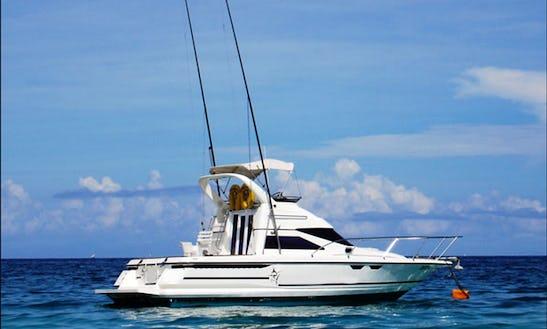 Fishing Charter On 30ft Leisure Sport Fisherman Yacht In Nungwi, Tanzania