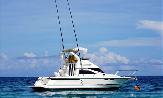 Fishing Charter On 30ft Leisure Sport Fisherman Yacht In Nungwi, Tanzania