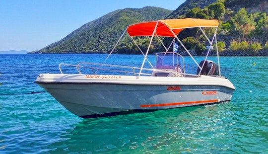 Rent 15' Ranieri 455 Center Console In Desimi, Greece