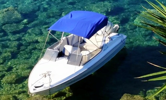 Rent 20' Gala Sport 6 Center Console In Desimi, Greece