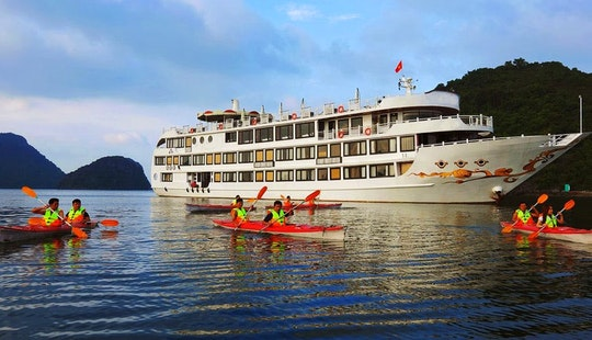 Swan Cruise To Bai Tu Long - Halong Bay
