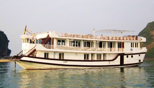 Passenger Boat Monkey Island Cruise In Halong Bay