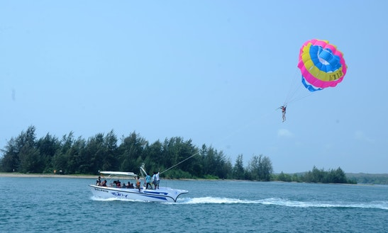 Experience A World-class Watersports - Book A Parasailing Ride In Malvan!