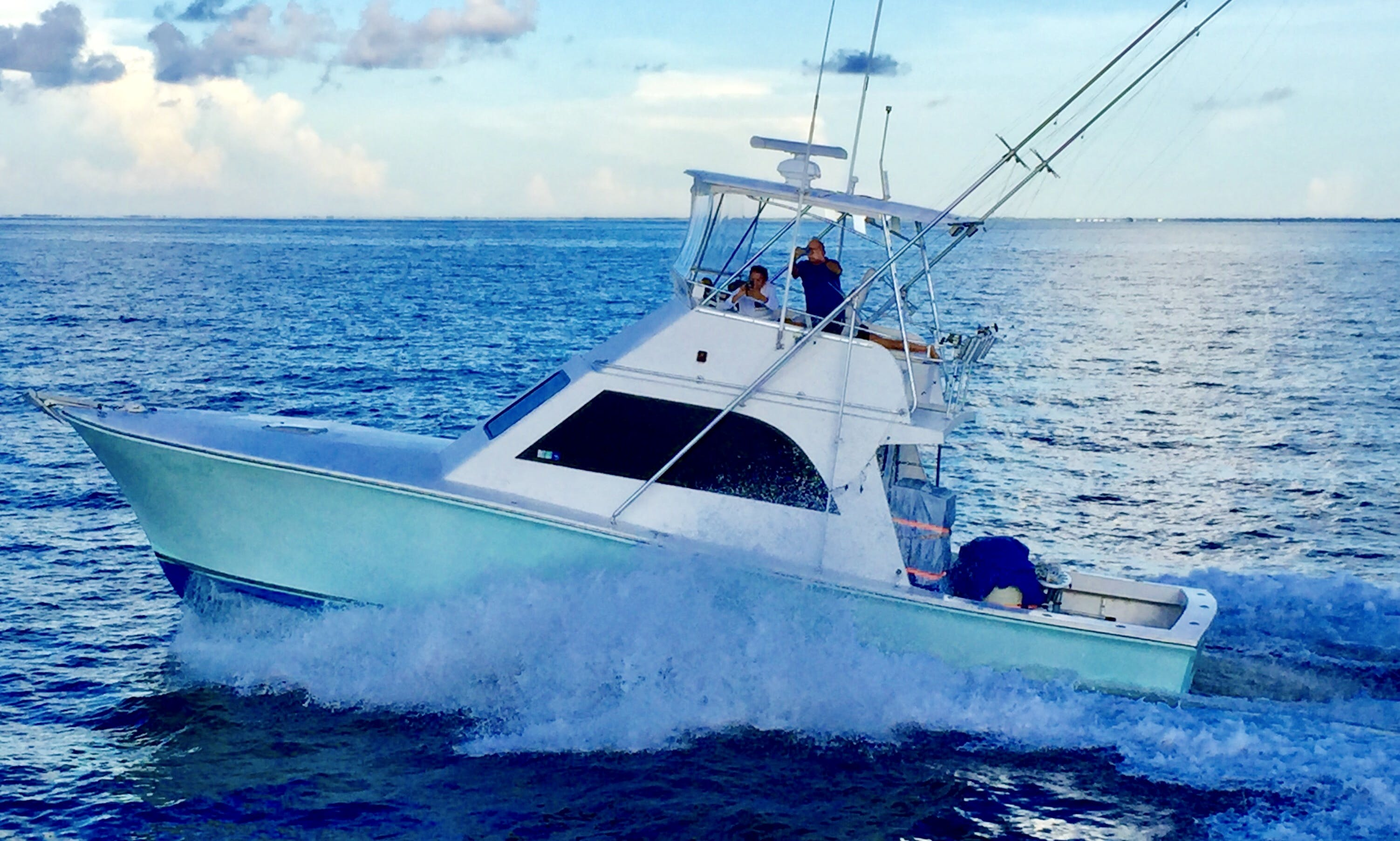 """KEEN M"" 41' Sport Fisherman, Fishing Charter in Isla Mujeres, Mexico"