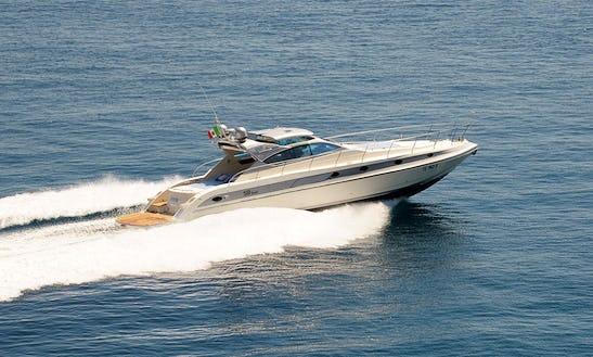 Power Mega Yacht Conam 58 Ht Rental In Sorrento, Italy