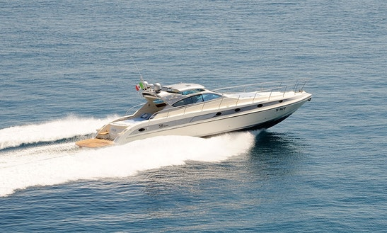 Power Mega Yacht Conam 58 Ht Rental In Sorrento, Italy