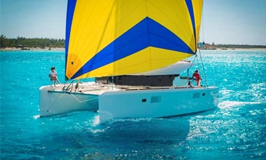39' Lagoon Sailing Catamaran Charter In Paros, Greece For Up To 8 Person