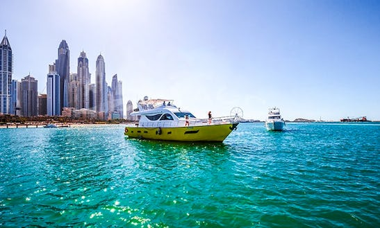 80' Mega Yacht For 40 Pax In Dubai, United Arab Emirates
