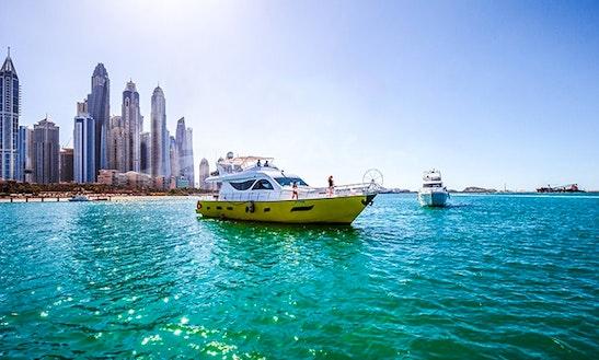 80' Mega Yacht For 40 Pax In Dubai, United Arab Emirates