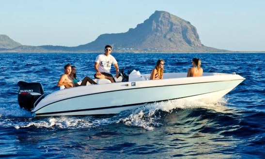 Enjoy Fishing In Rivière Noire, Mauritius On 30' Sports Fisherman