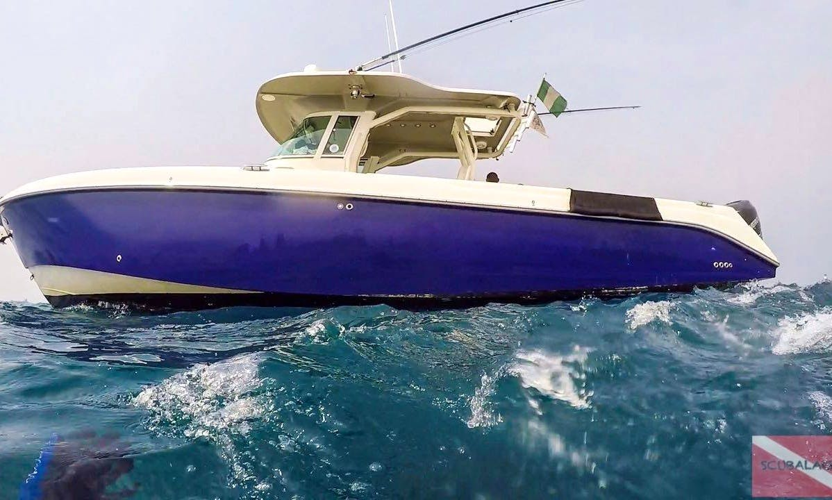 Center Console fishing charter in Lagos, Nigeria