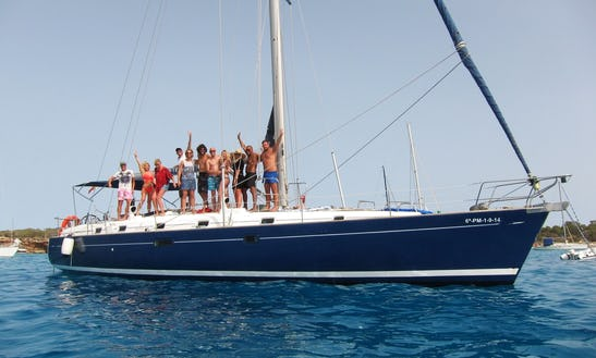 50' Sailing Yacht Charter In Ibiza And Formentera
