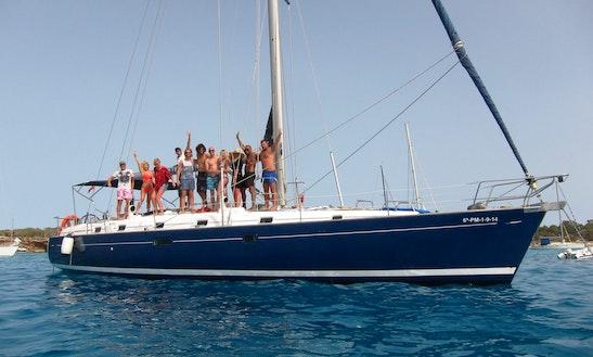 50' Sailing Yacht Charter In Ibiza And Formentera