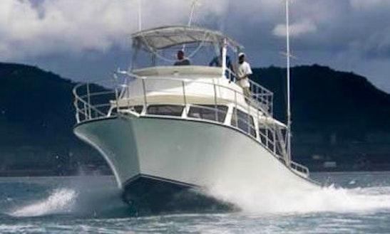 Charter 46' Motor Yacht In Fajardo, Puerto Rico