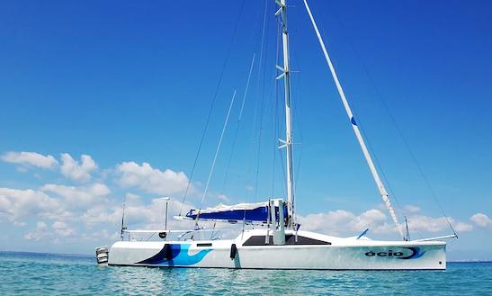 Charter 42' Leisure Cruising Catamaran In Sao Tome De Paripe, Brazil