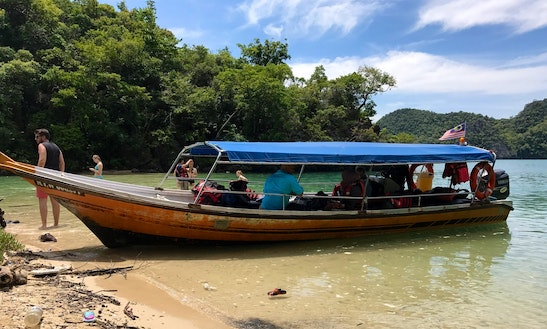 Experience Mangroves And Caves On This 12 Person Center Console Charter In Langkawi, Malaysia
