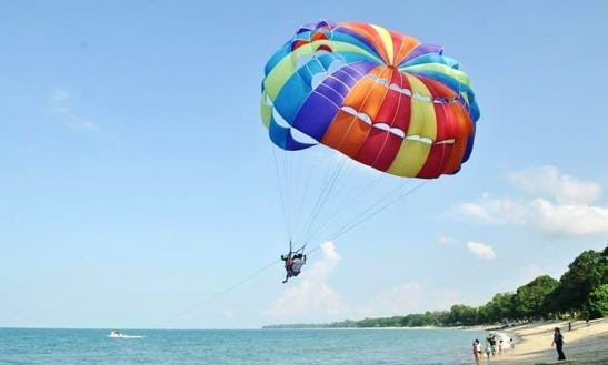 Parasailing Experience In Langkawi, Malaysia
