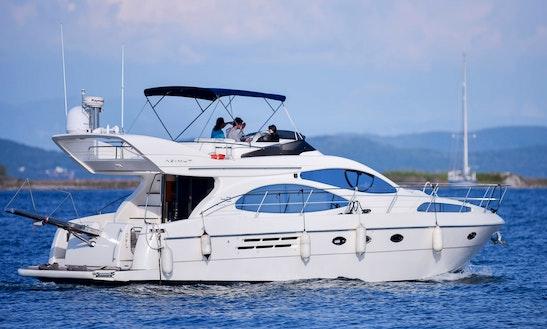 Charter 46' Rio Frio Motor Yacht In Preveza, Greece