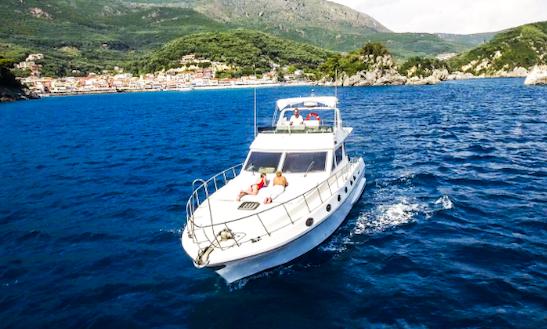 Charter 45' Pitylos Motor Yacht In Lefkas, Greece