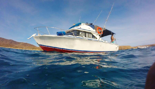 Fishing In Playa Blanca, Spain On Sport Fisherman - Trolling And Bottom Fishing