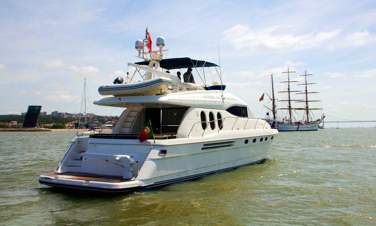 72ft Power Mega Yacht Charter in Lisbon, Portugal