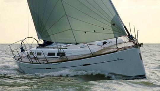 Charter 42' Dufour Cruising Monohull In Sardegna, Italy