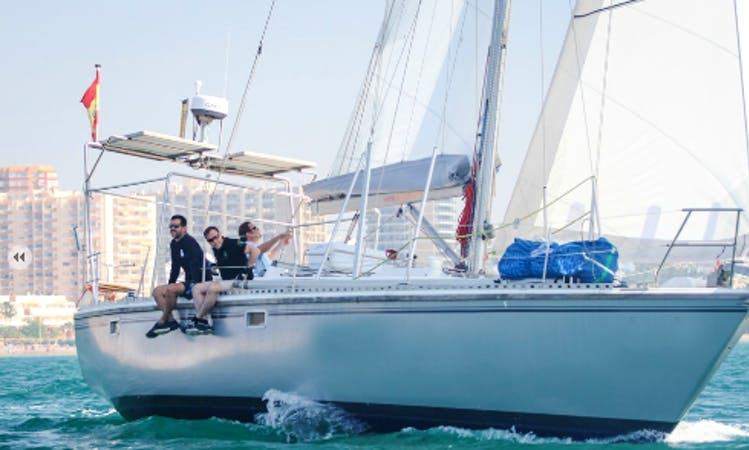 "Charter 42ft ""Dolphin Seeker"" Cruising Monohull In Málaga, Spain"