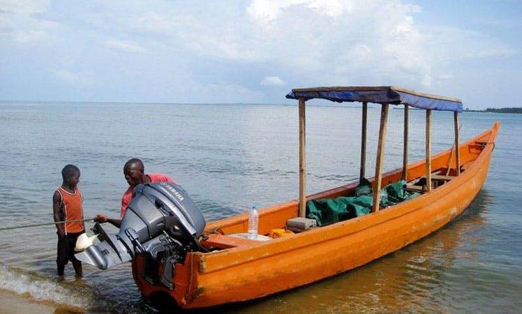 Jon Boat Rental in Banana Islands