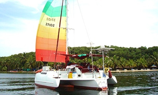 Rent Naylamp Trimaran In El Empalme, Panama