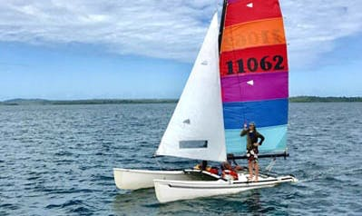 Rent 18' Hobie Cat Beach Catamaran in El Empalme, Panama