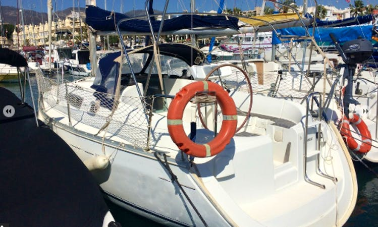 "Rent 29ft ""Antoñito Trumpet"" Cruising Monohull In Málaga, Spain"