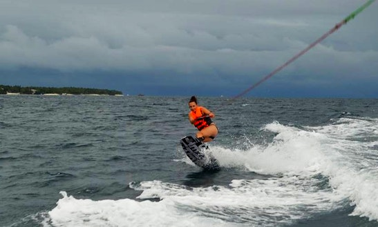 Enjoy Wakeboarding In Anda, Philippines