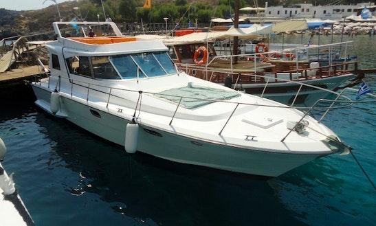 Charter a motor yacht in kolympia greece getmyboat for Motor boat rental greece