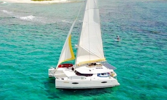 Charter A Cruising Catamaran In Santa Maria, Philippines