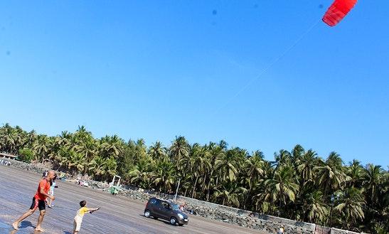 Enjoy Kitesurfing In Gorai, Maharashtra