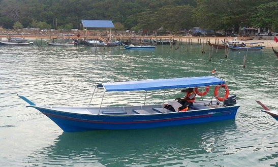 Charter A 17 Person Center Console In Langkawi, Malaysia For An Island  Hopping Adventure