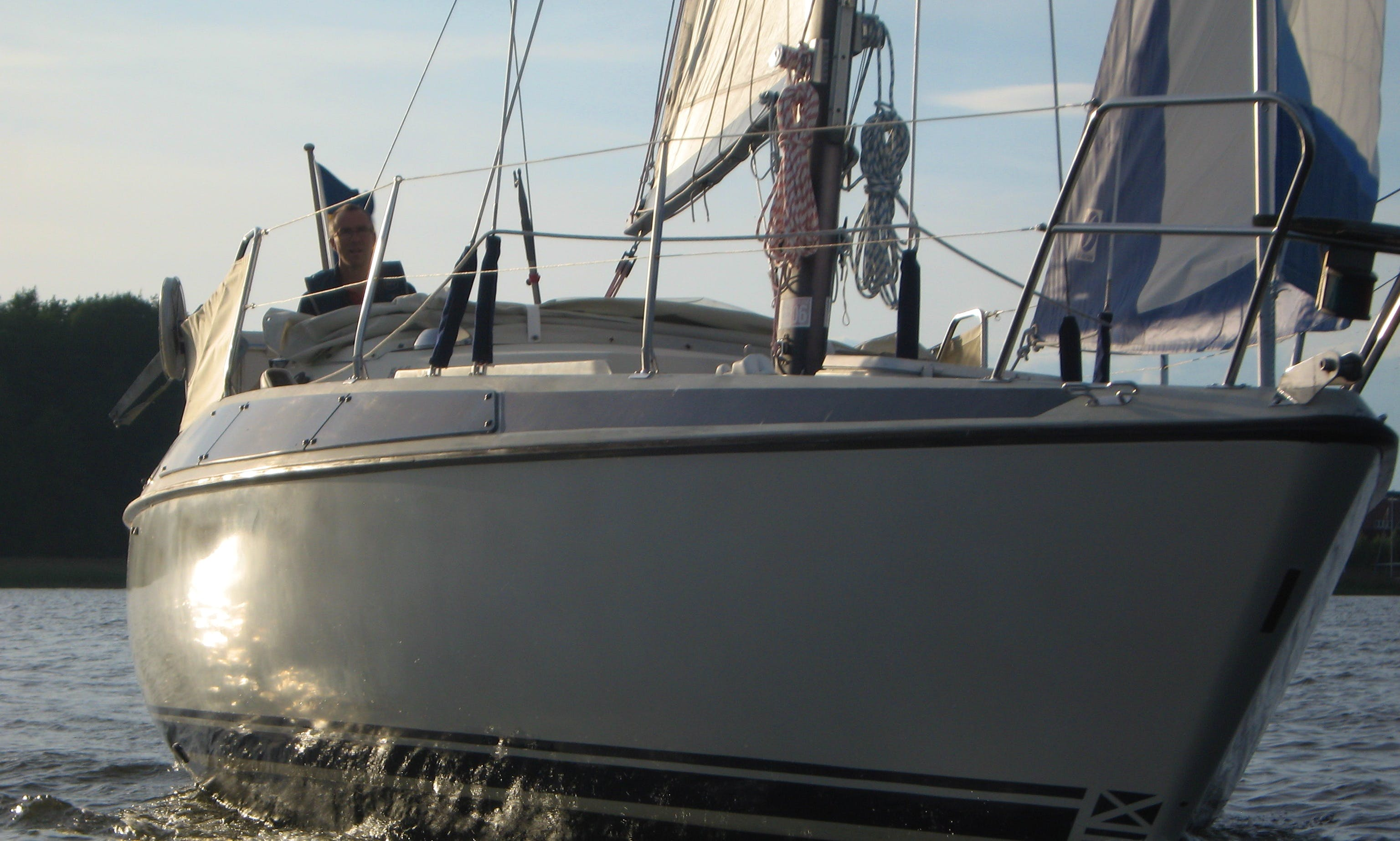 Cruising Monohull rental in Vänern