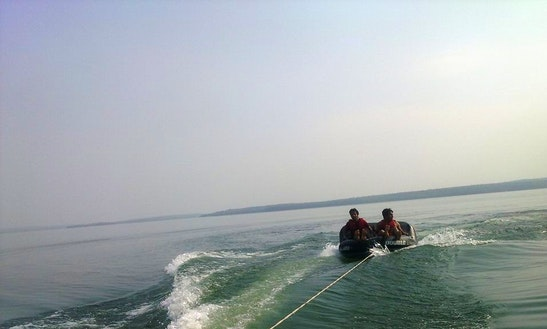 Enjoy Tubing In Dhamtari, India